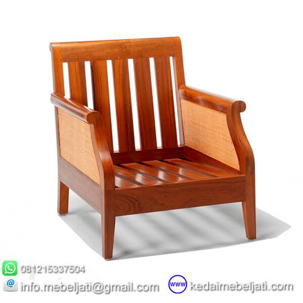 gambar kursi tamu minimalis andrea tanpa jok