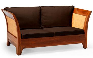 Sofa Tamu Minimalis Karmina Rotan