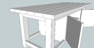 sambungan tempel papan kayu