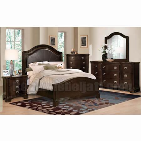 kamar tidur set klasik