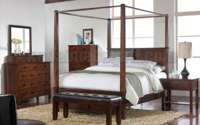 Set Kamar Tidur Minimalis Kanopi