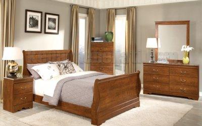 Set Kamar Tidur Model Sleigh