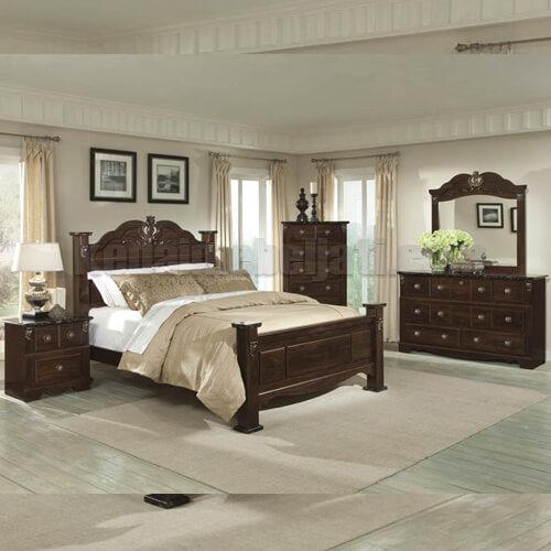 Set Tempat Tidur Klasik Seri Kencana