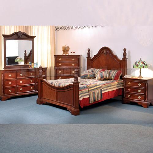 Set Tempat Tidur Model Klasik Victorian