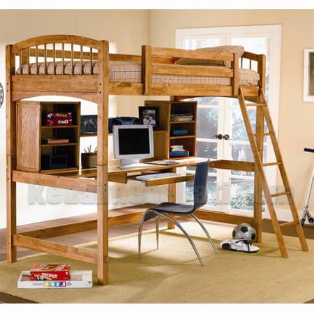 tempat tidur anak model tingkat