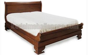 Tempat Tidur Model Antik Sleigh