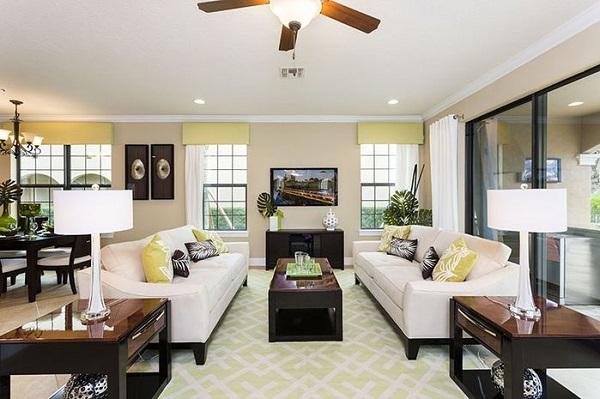 desain mebel ruang keluarga