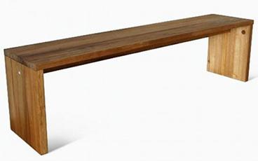 Bangku Jati Minimalis Simple KDB 003