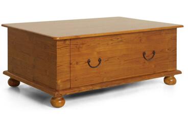Meja Kopi Model Klasik Dengan Laci