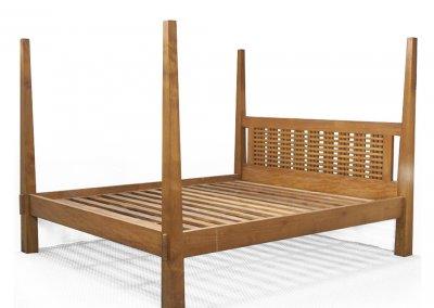 gambar tempat tidur minimalis kanopi kerucut