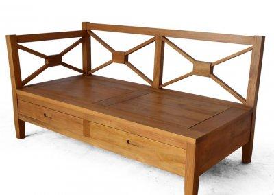 Sofa sectional model minimalis KKS 029 kiri