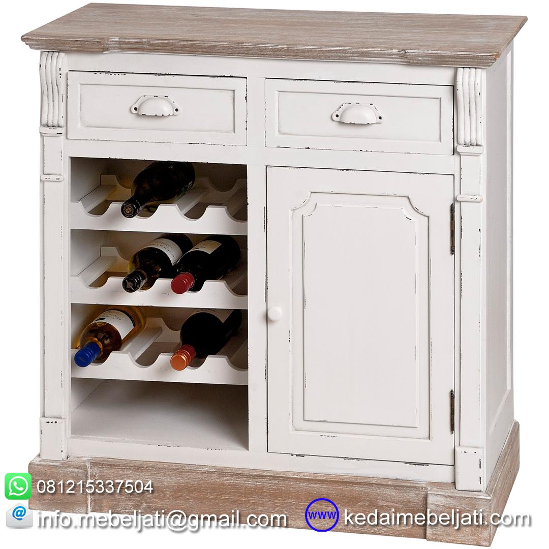 Bufet Dapur Wine Rack