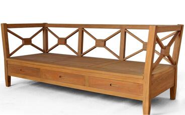 Sofa Minimalis Jati 3 Dudukan