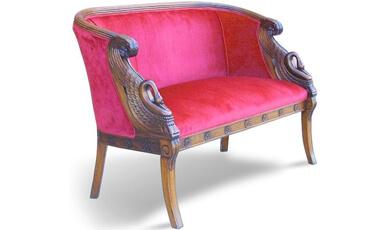 Sofa Tamu 2 Dudukan Ukiran KKS 022