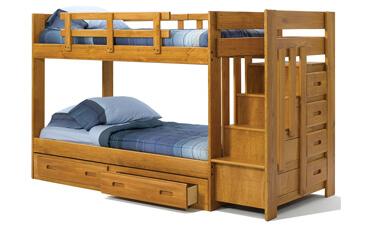 Tempat Tidur Tangga Seri Riana