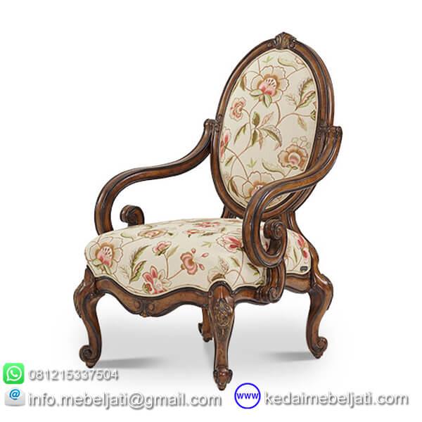 gambar kursi ruang tamu antik ukiran KKS 015