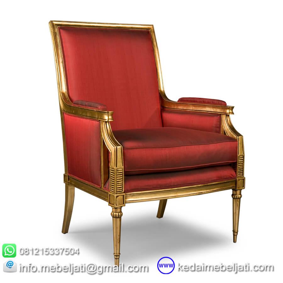 gambar kursi ruang tamu model antik KKS 005 Red