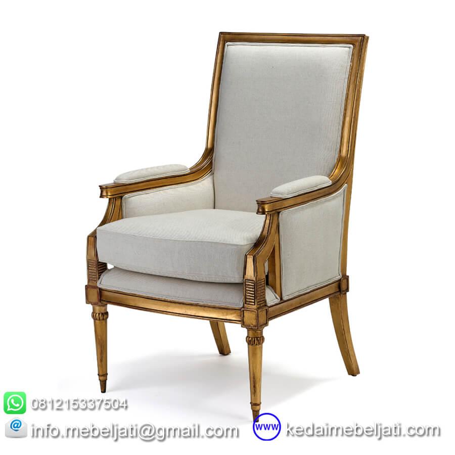 gambar kursi ruang tamu model antik KKS 005