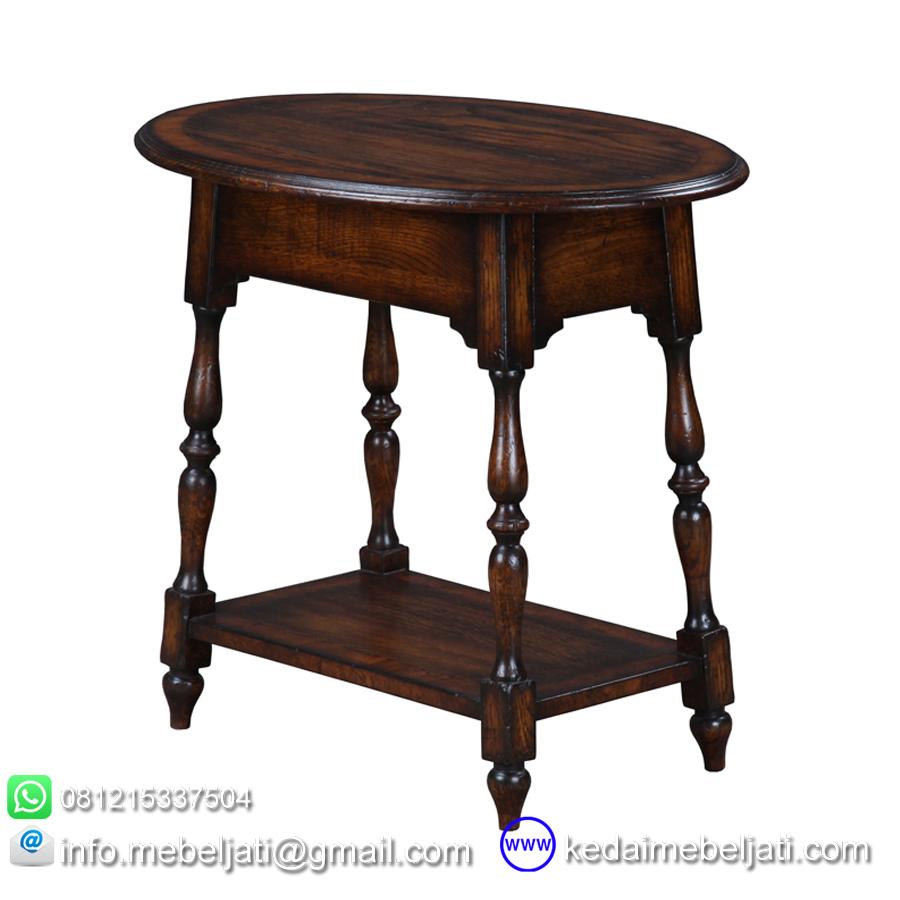 meja kecil untuk ruang tamu