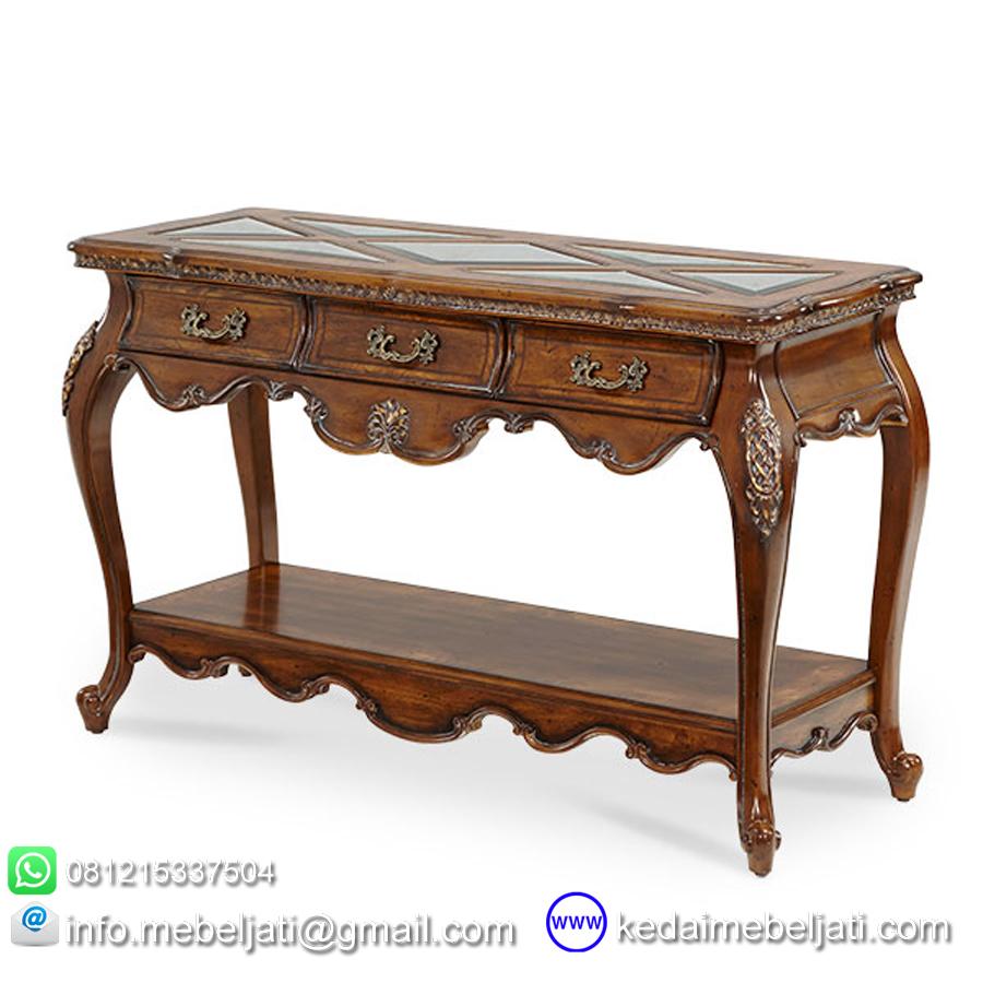 meja konsul klasik