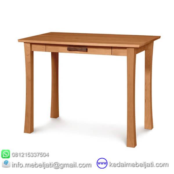 meja tulis kayu jati
