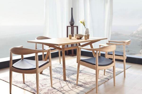 Meja Kursi Cafe Minimalis Kayu Design Vintage