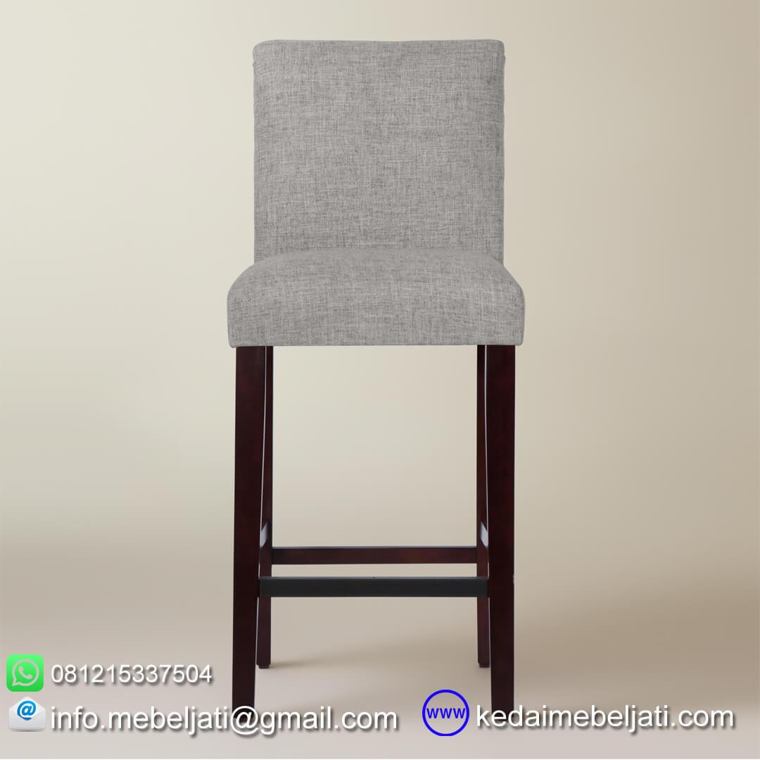 kursi bar murah minimalis kiara tampak depan