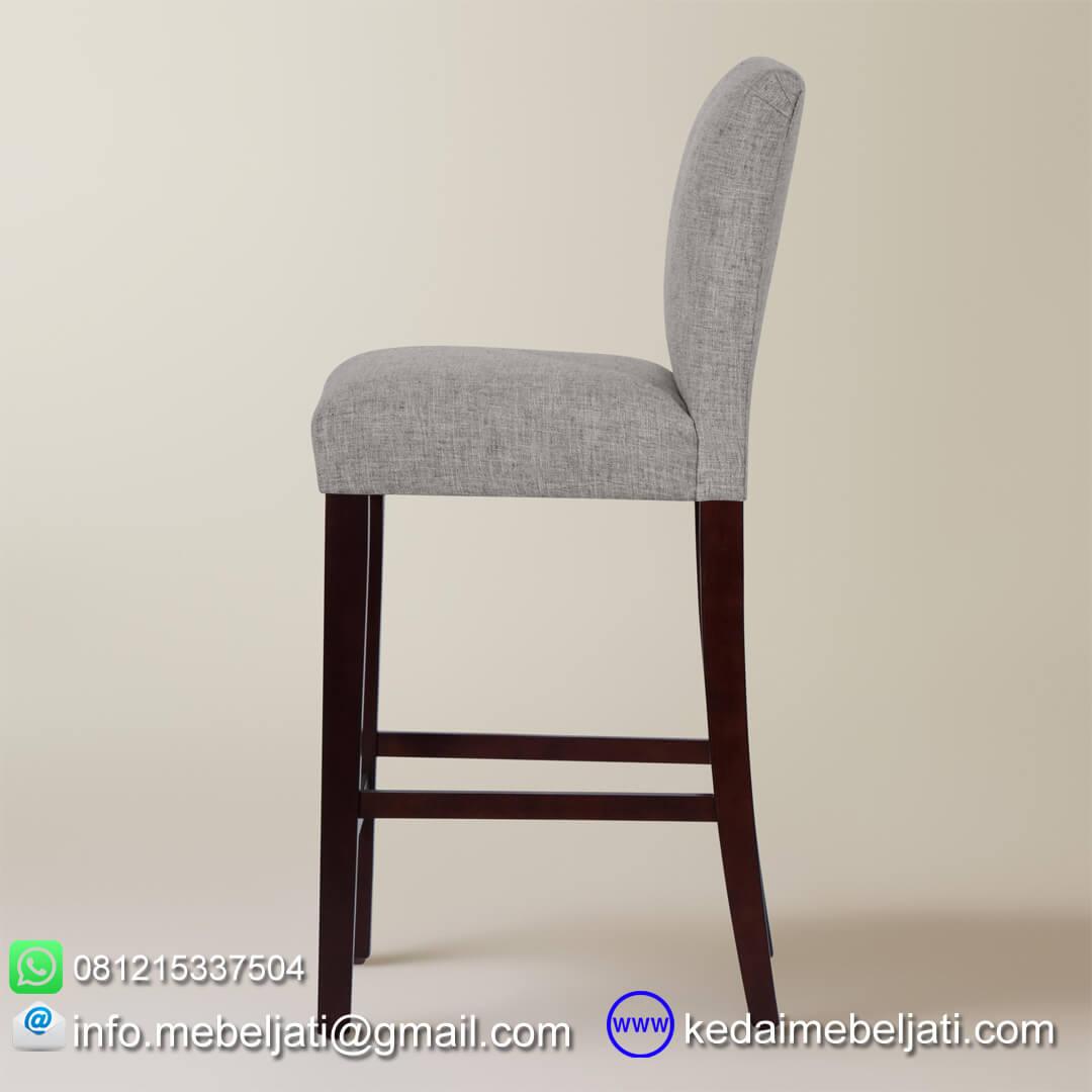 kursi bar murah minimalis kiara tampak samping
