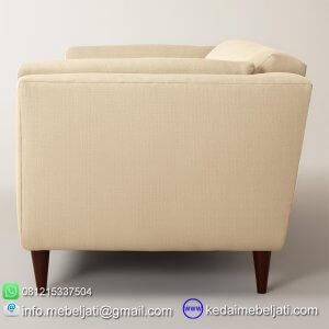 sofa minimalis model retro