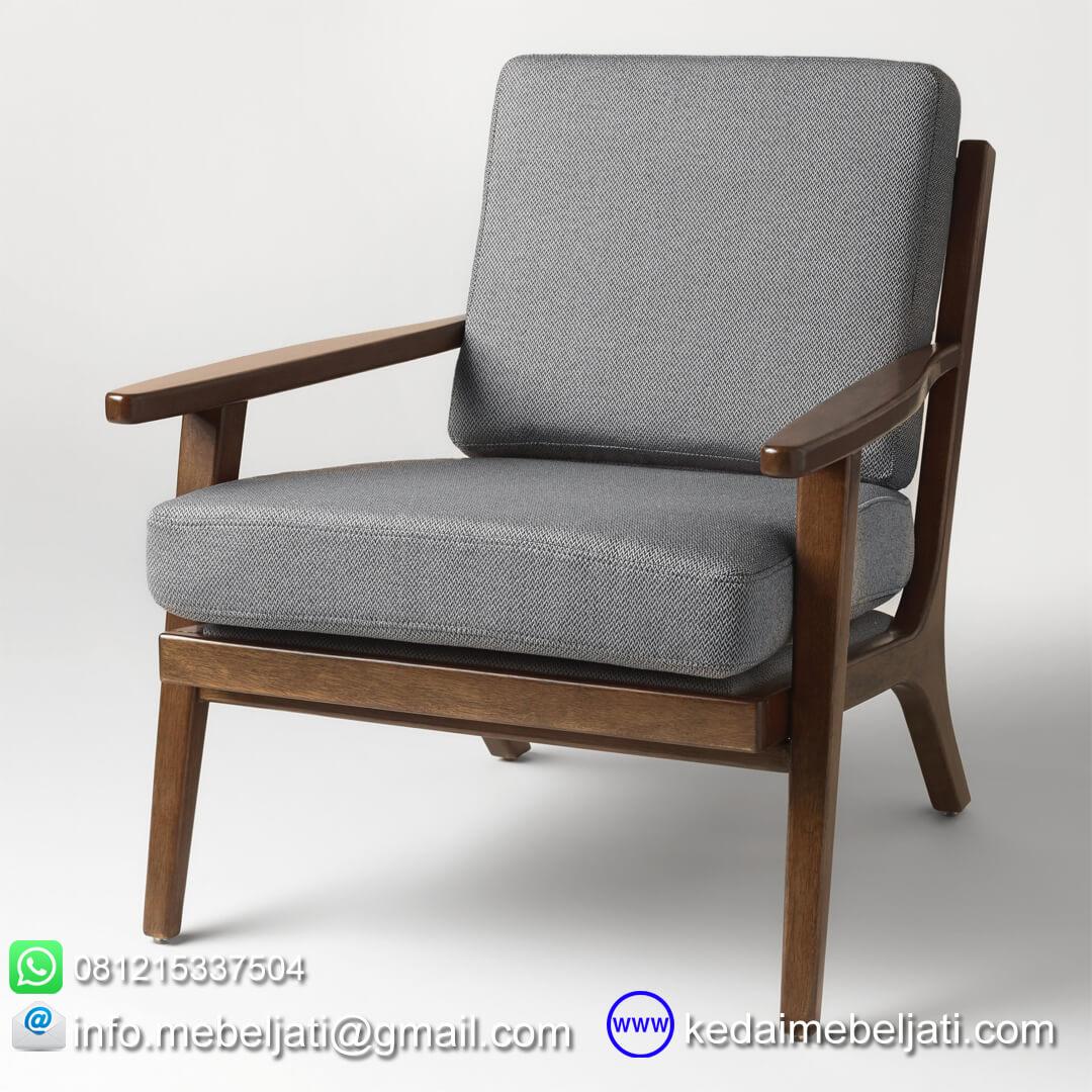 Kursi tamu vintage minimalis kayu jati jepara