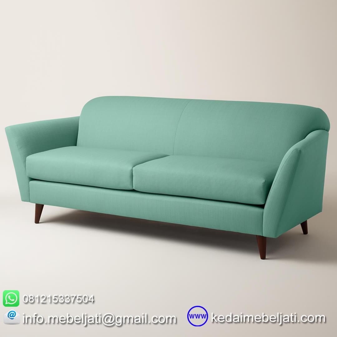 Sofa panjang vintage retro scandinavia