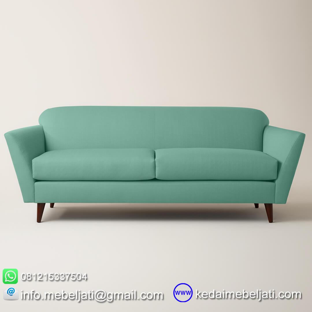 Sofa panjang vintage scandinavia depan