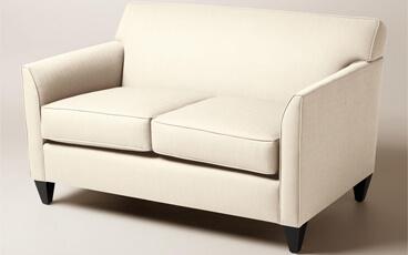 Sofa Minimalis Jati Seri Stella Loveseat