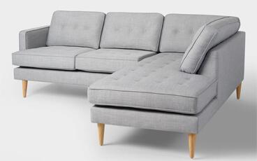 Sofa Sudut Vintage Minimalis Foxy