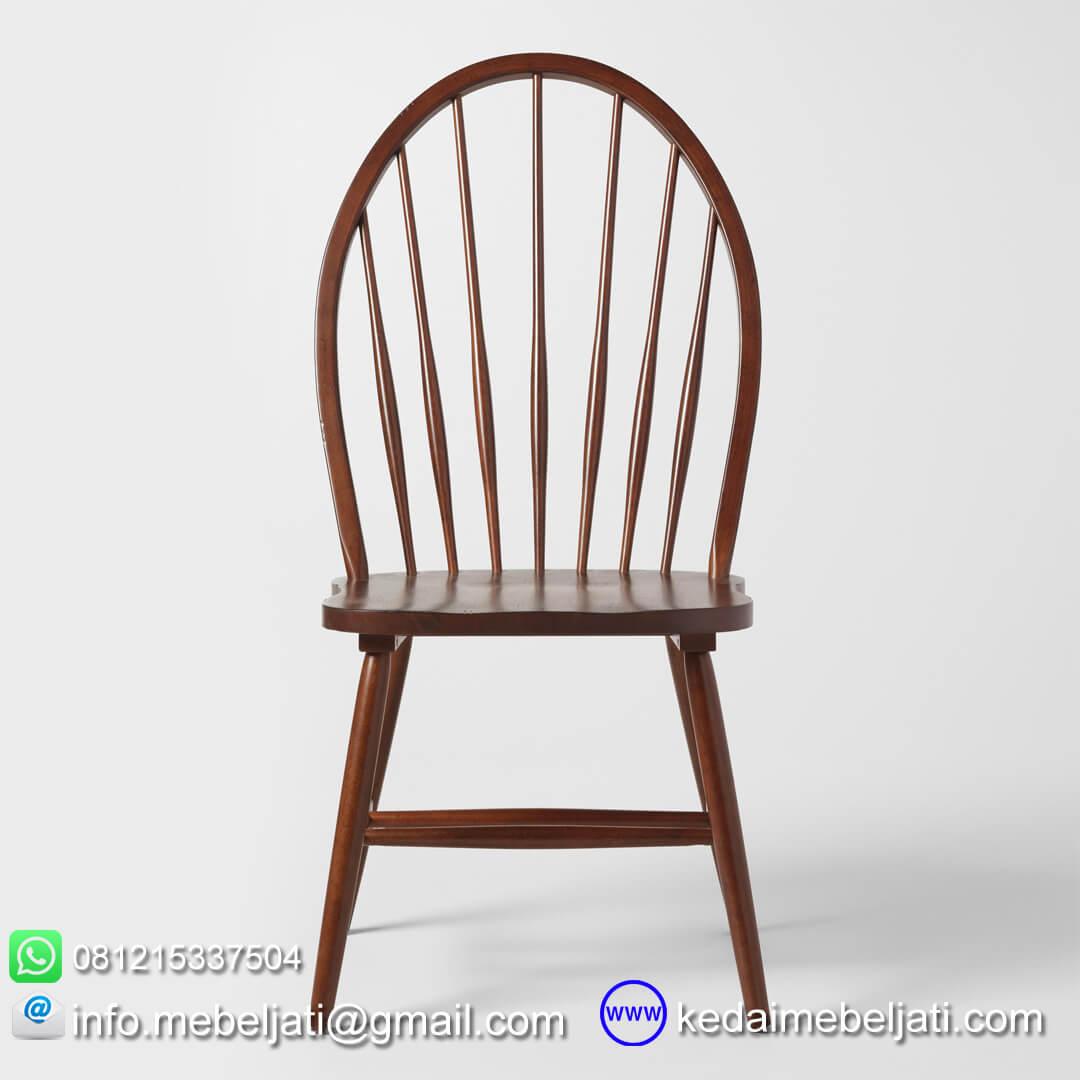 kursi makan minimalis american style tampak depan