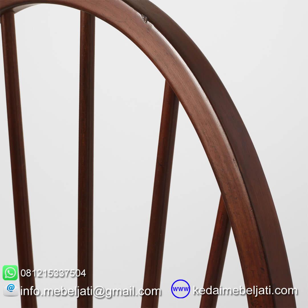 kursi makan minimalis american style tampak detail sandaran