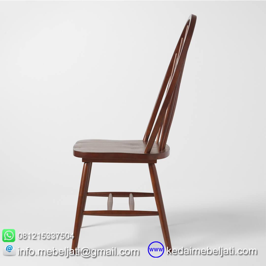 kursi makan minimalis american style tampak samping