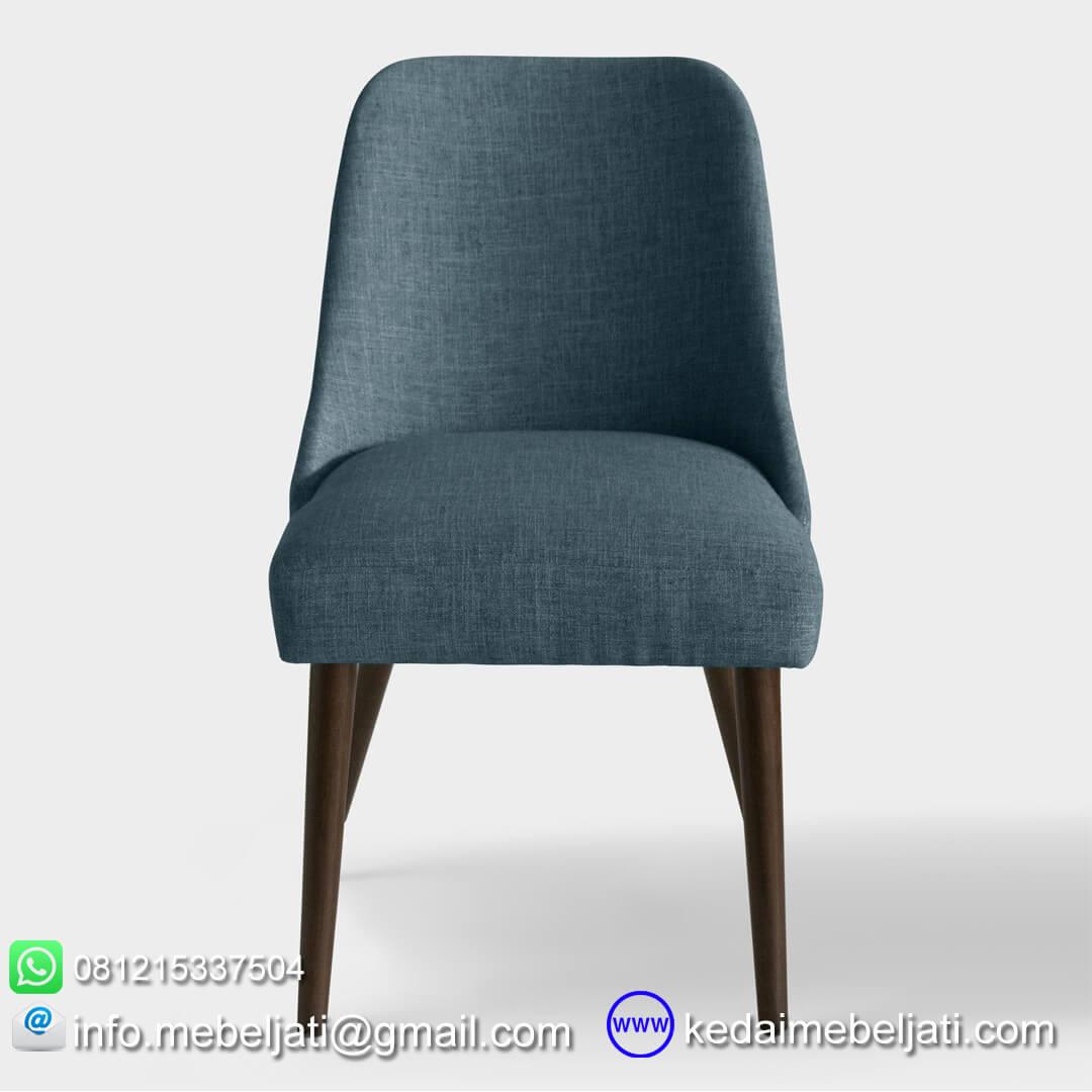kursi makan minimalis vintage tampak depan