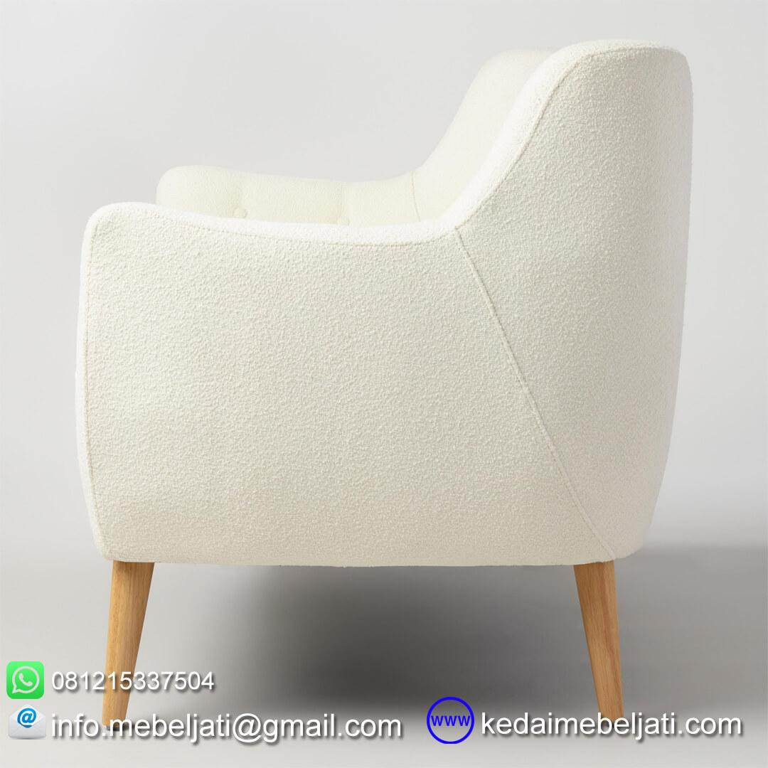 kursi sofa minimalis retro