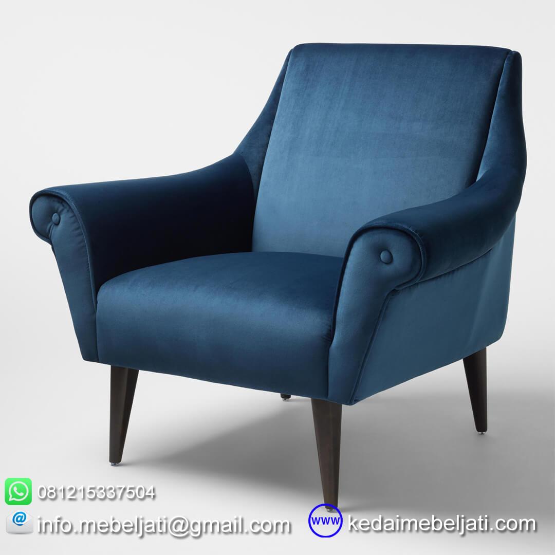 kursi sofa vintage minimalis lily