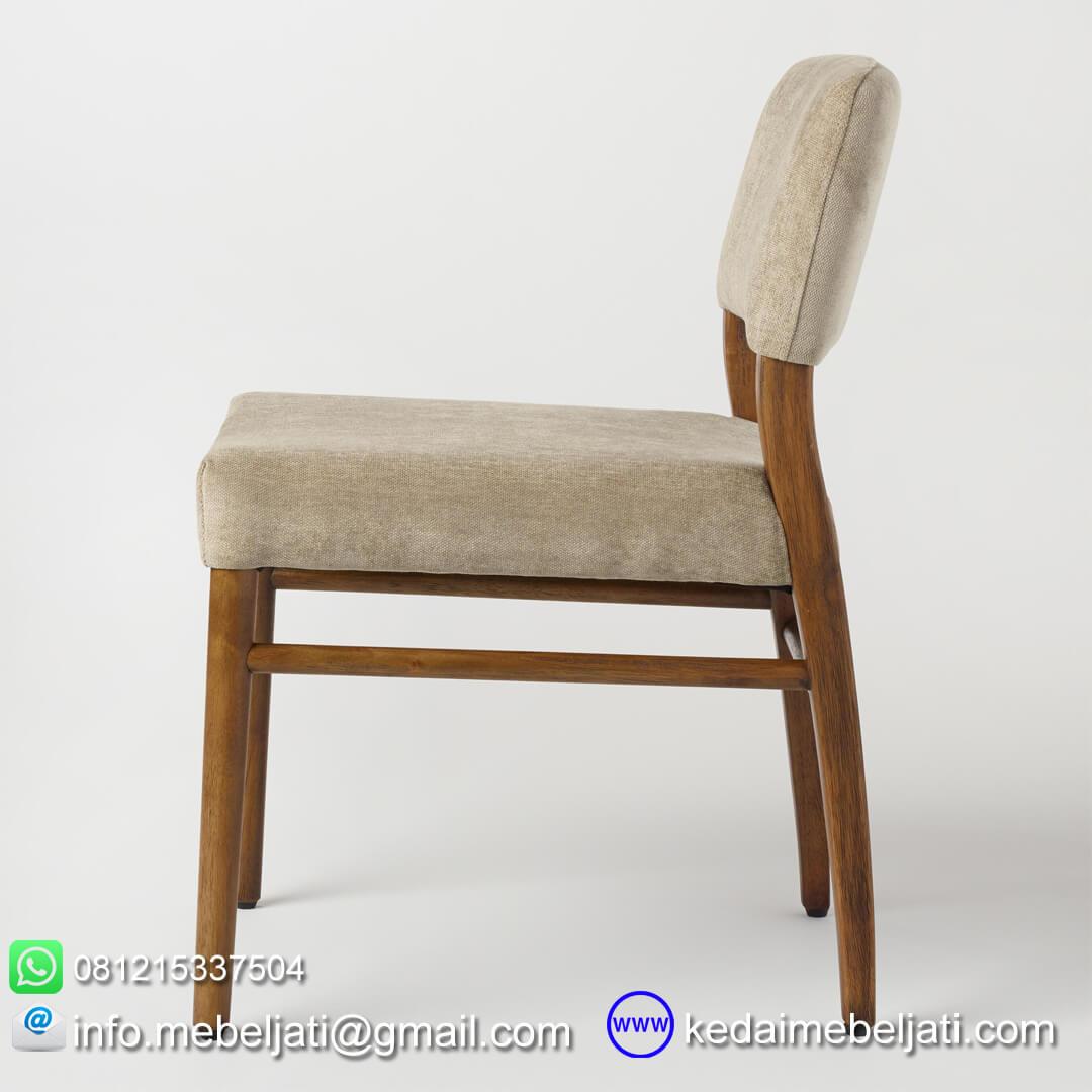 kursi untuk cafe design verona tampak samping