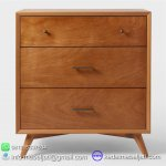 NAKAS DRAWER 3 LACI MODEL MINIMALIS SCANDI