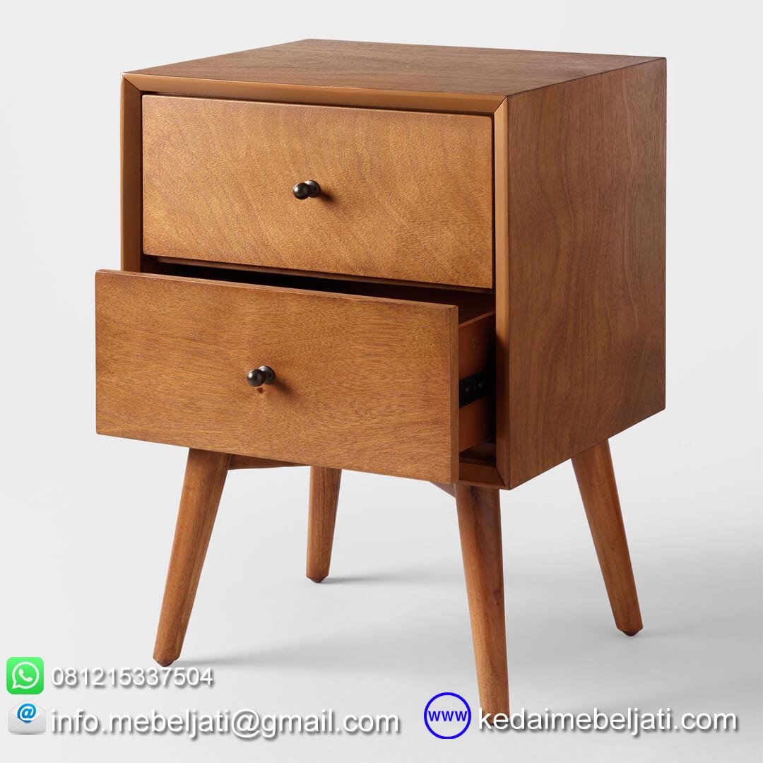 nakas minimalis model vintage