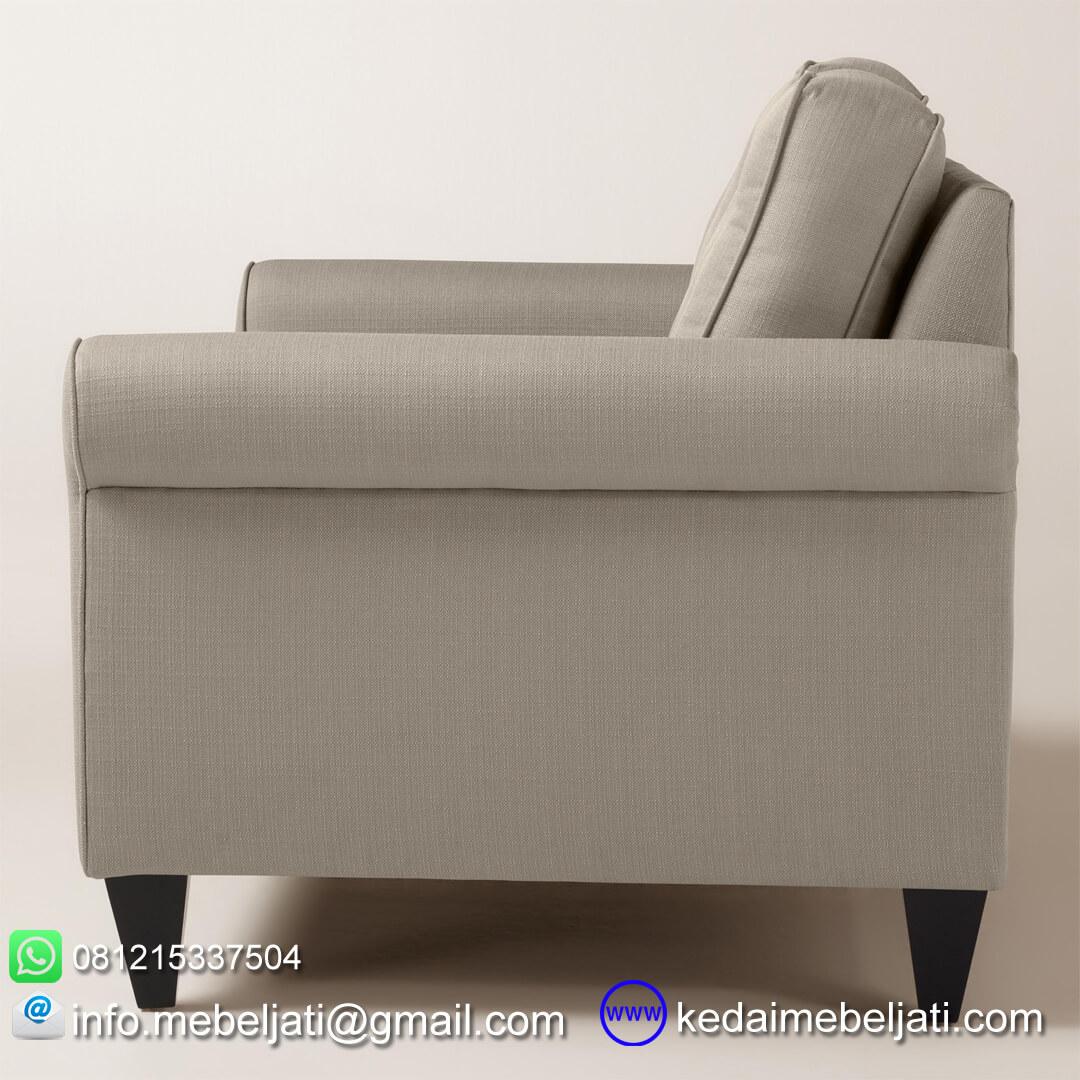 sofa 2 dudukan loveseat auckland tampak samping