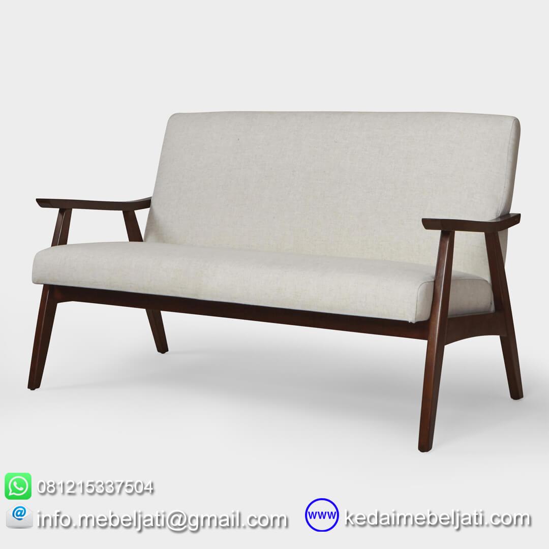 sofa jati minimalis retro