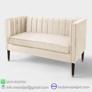 SOFA LOVESEAT MINIMALIS SERI BANDY