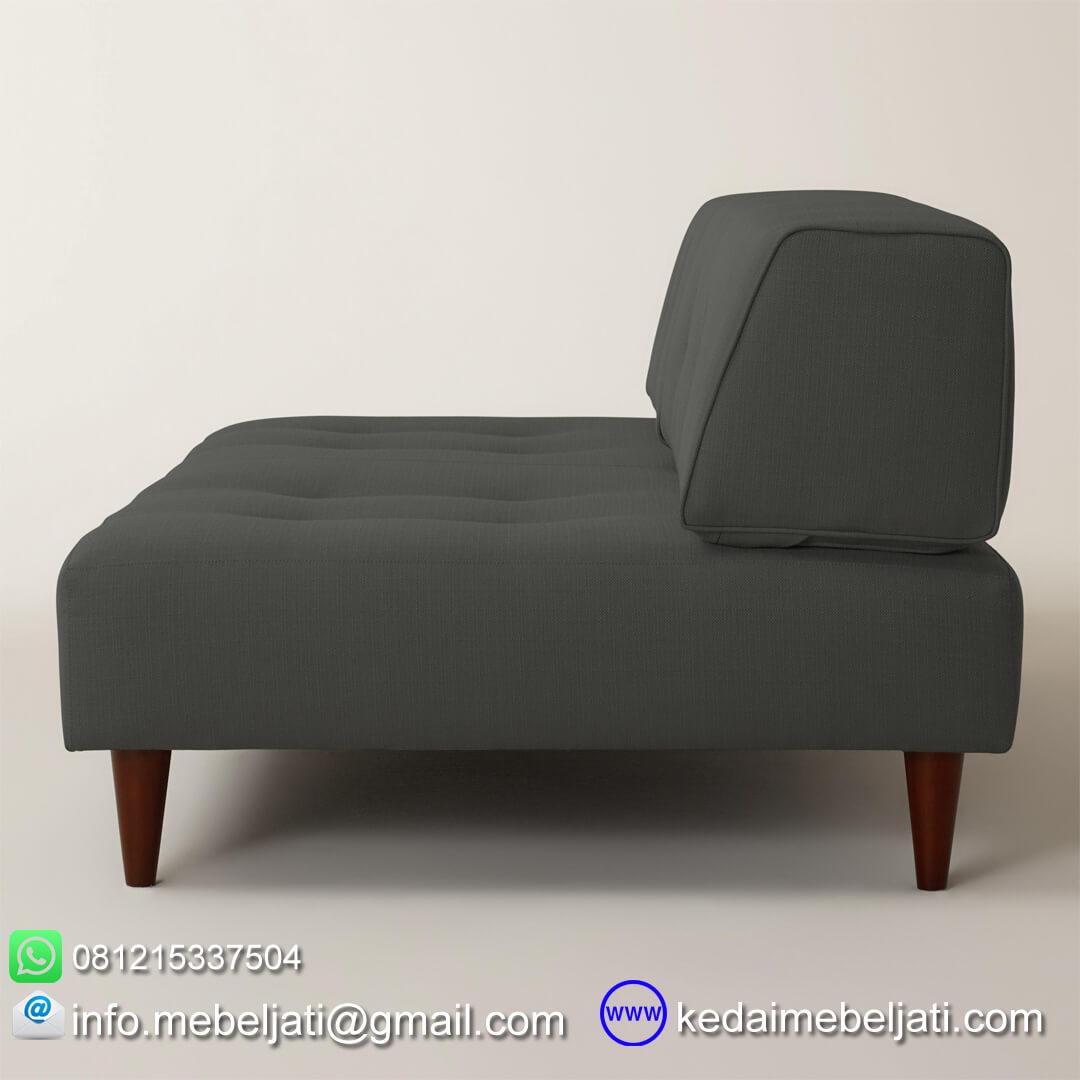 sofa minimalis modern valencia dark charcoal samping