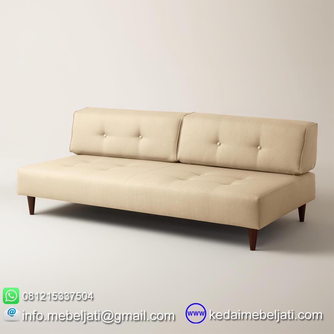 Beli Sofa Minimalis Modern Valecia Kayu Jati Harga Murah Bersahabat