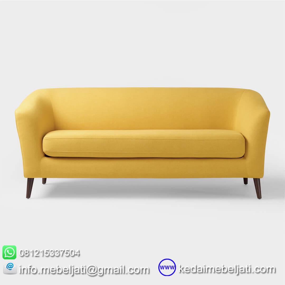 sofa modern minimalis vintage narnia tampak depan