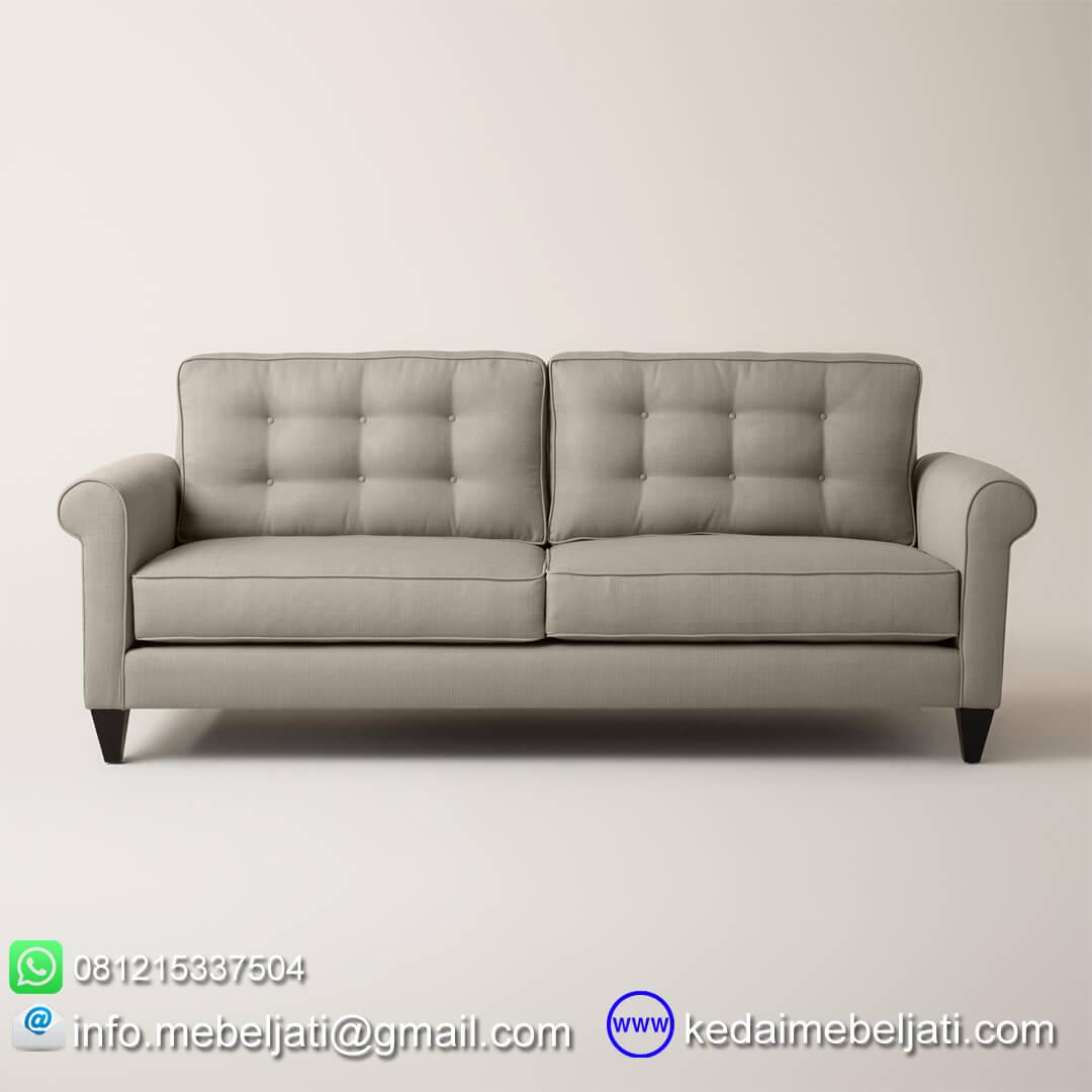 sofa ruang tamu minimalis auckland tampak depan